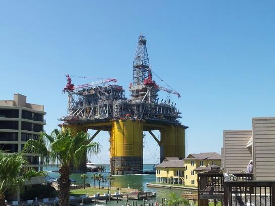 Fixed platform Oil Rig